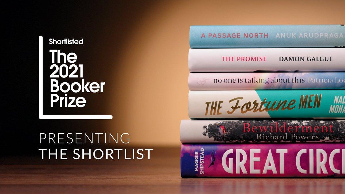 Booker Prize 2021 Shortlist