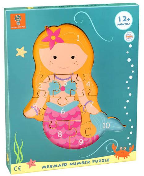orange-tree-toys-wooden-number-puzzle-mermaid