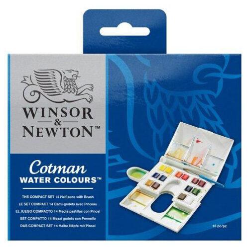 cotman-watercolour-compact-set