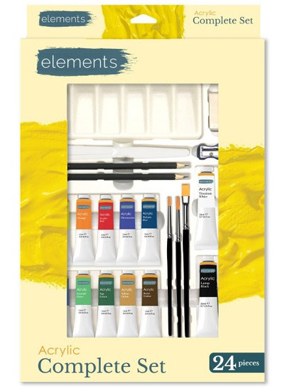 elements-acrylic-complete-set