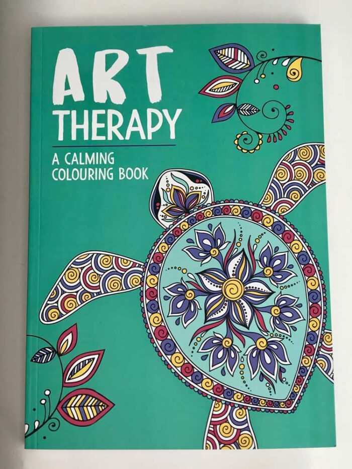 art therapy a calming colouring book