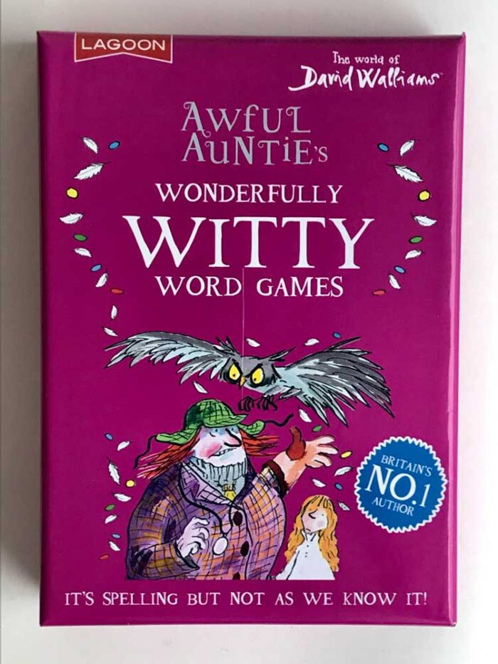awful aunties wonderfully witty word games