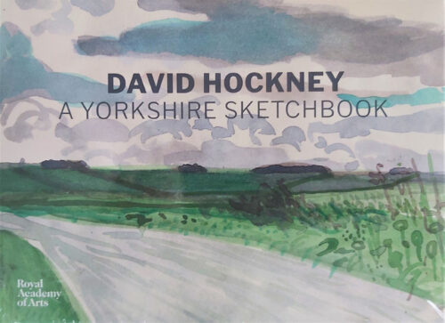 David Hockney yorkshire sketchbook