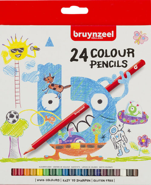 Bruynzeel-Coloured-Pencils-Set-of-24