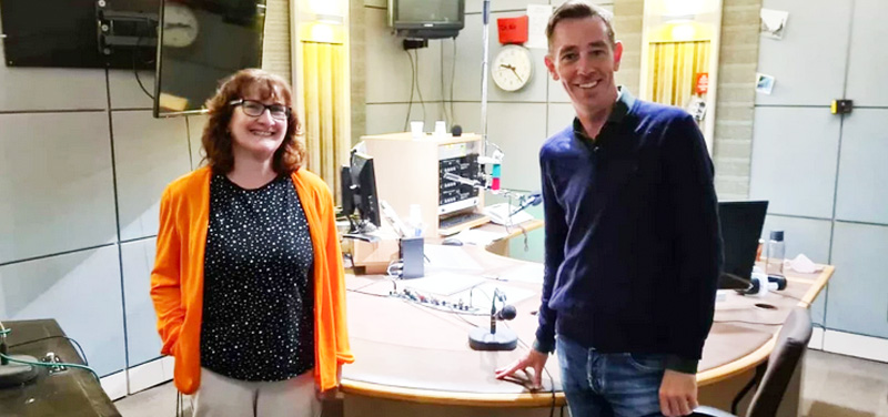 books at one on the ryan tubridy show on RTE Radio